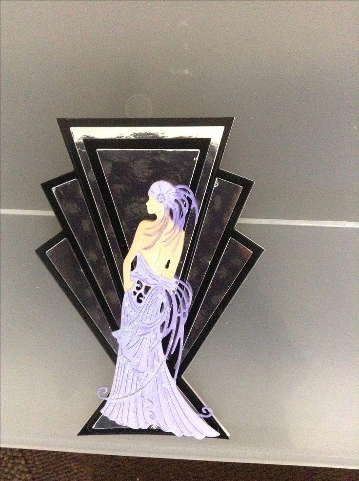 Tattered lace Art Deco