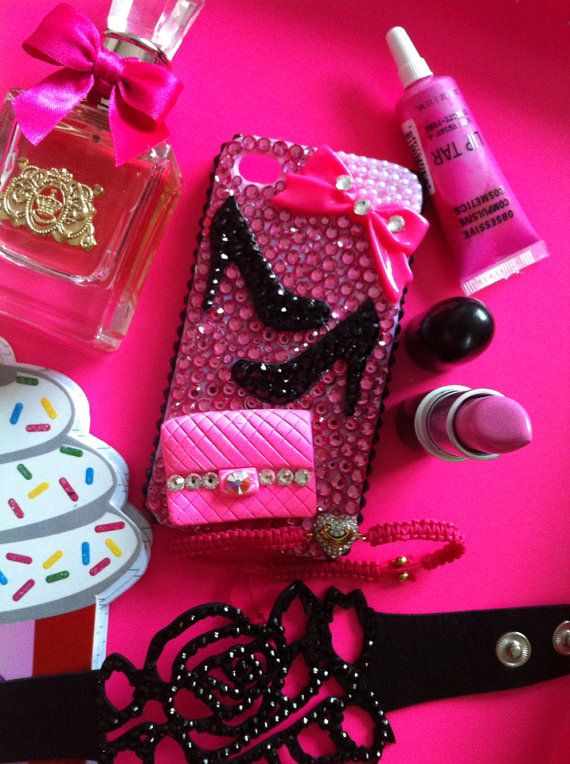 Hot Pink Girly Heels iPhone 4/4s case by HelloKristy719 on Etsy, $40.00