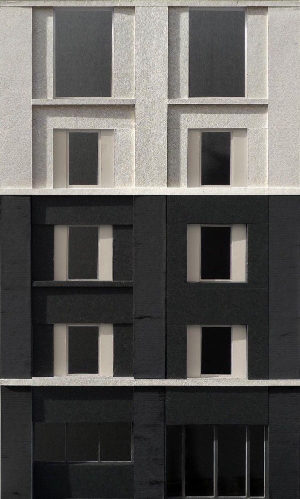 Facade Model Study - 3144 Architects