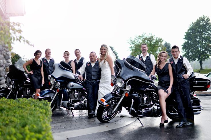 Our Biker Styled Wedding