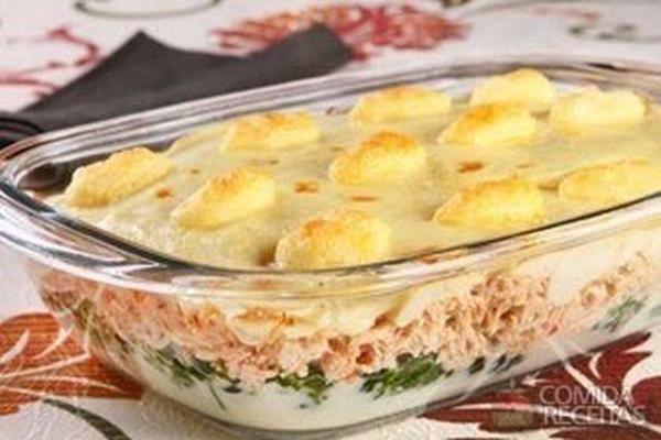 Receita de Fricassé de frango saboroso em Aves, veja essa e outras receitas aqui!