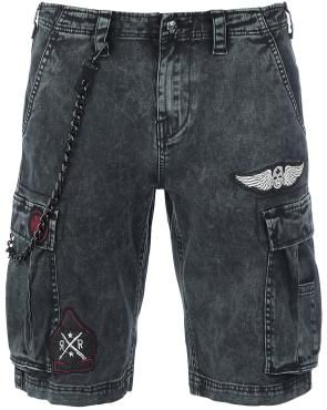 Vintage Denim Shorts - Pantalones cortos por Rock Rebel by EMP