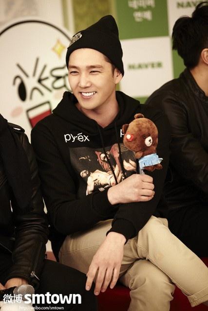Kangin charming smile ♥