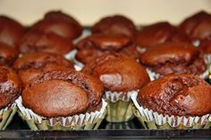 Chatka wiedźmy: Bananowo - Czekoladowe Muffinki Nigelli