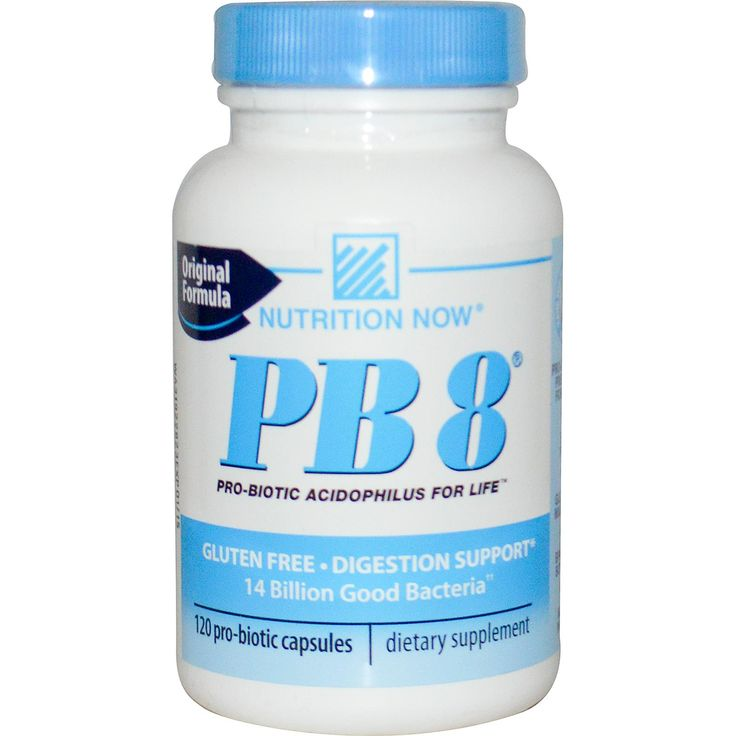 Nutrition Now, PB8, Original Formula, Pro-Biotic Acidophilus, 120 Pro-Biotic Capsules