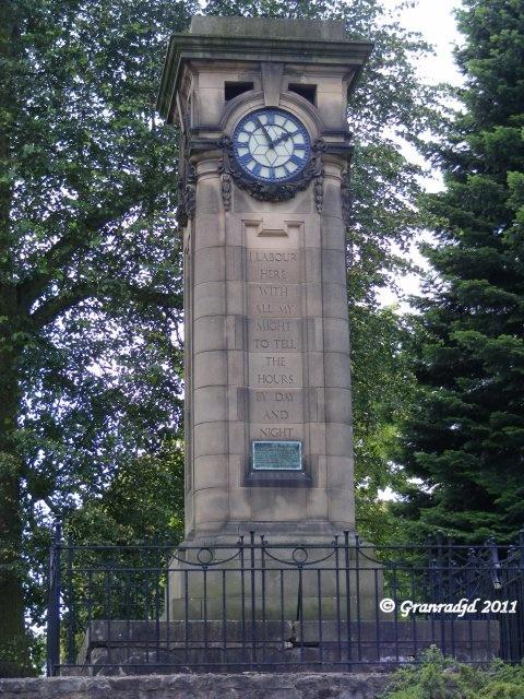 Tettenhall Clock, Tettenhall, Wolverhampton. (Photo by someone else)