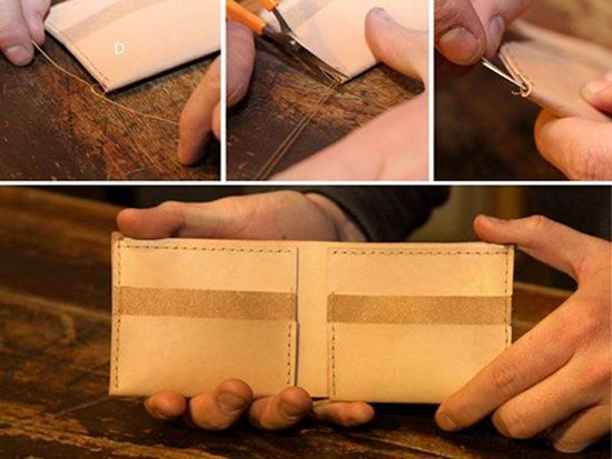 http://artofmanliness.com/2012/11/30/how-to-make-a-wallet/ Make a wallet that will last the rest of your life!