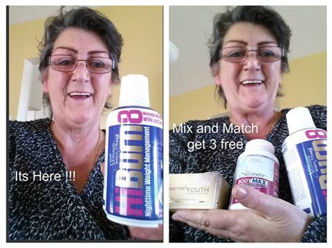 I am soooooo EXCITED !!!  I have all 3 new products Now and can hardly wait till 9 pm to take My new HiBURN8 like emoticon I sleep with such a broken sleep and so often dont feel rested there is alot of testimonies in to our office , of peoples sleeping so much better, I am going to I am even going to give hubby some wink emoticon  I did open it and tasted it it is soooooo berry tasting I could swig it right out of the bottle  goood morning guess who feels refreshed and well rested OMG I…