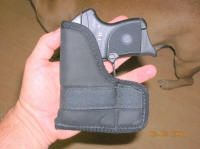 RUGER LCP in Blackhawk holster