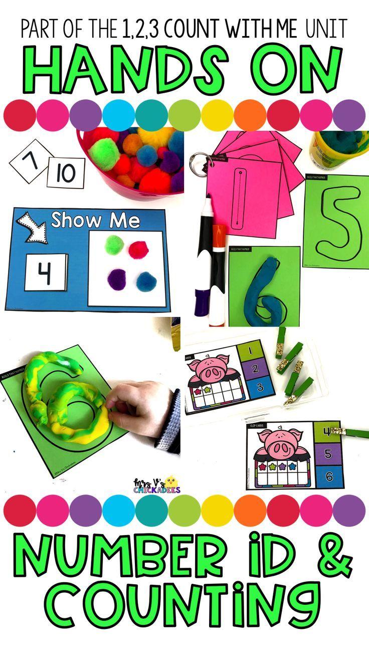 Preschool Curriculum 1 2 3 Count With Me Numbers 1 10 Kindergarten Lessons Kindergarten Math Lesson Preschool [ 1308 x 736 Pixel ]