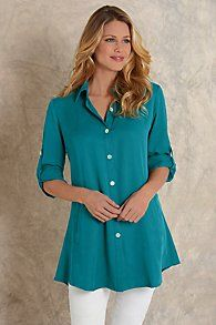 Womens Tencel Shirt