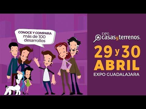 Expo Casas y Terrenos. 29 y 30 de Abril en Expo Guadalajara - Expo Casas y Terrenos