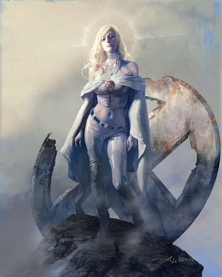 Gorgeous Art for X-Men's EMMA FROST — GeekTyrant