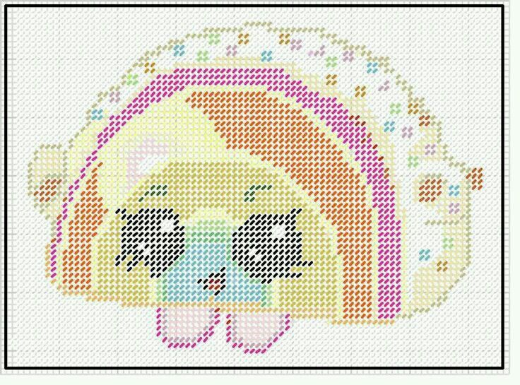 SHOPKINS RAINBOW BITE WALL HANGING