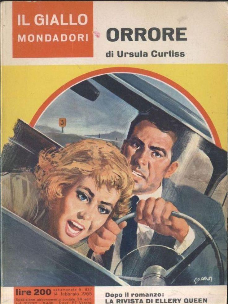 ORRORE di Ursula Curtiss 14 febbraio 1965 il giallo Mondadori