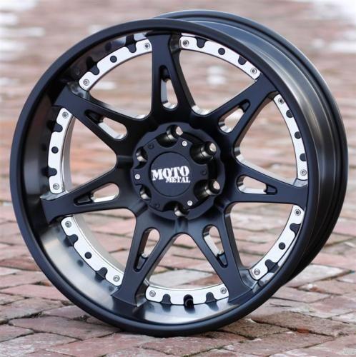 20 inch Black wheels rims MOTO METAL 961 Toyota Tundra 2007-2015 5x150 5 lug #MotoMetal