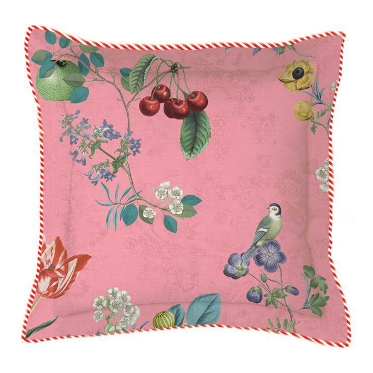 PiP Studio Cherry Pip 35x60cm Cushion, Pink