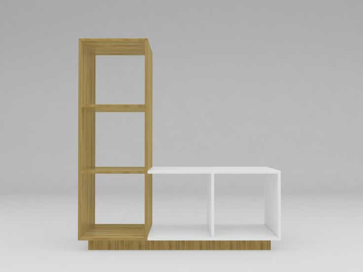 Minimalist modern furniture - Rak Dapur Kayu Minimalis - White Elegant Teak