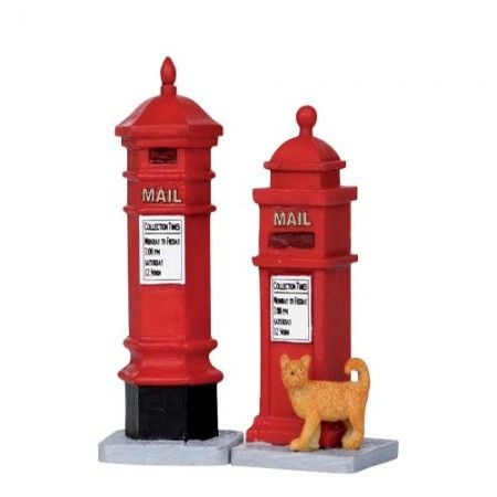 Lemax - Victorian Mailboxes, Set Of 2