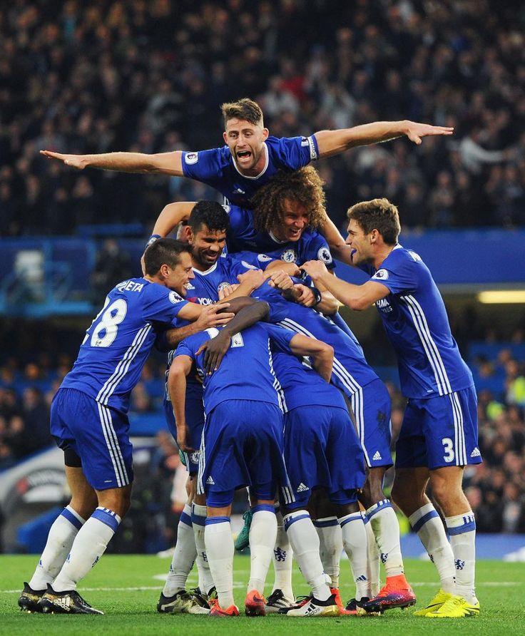 PL @9: Chelsea 4-0 MU Pedro's 1st goal Cahill's 2nd goal Hazard's 4th goal Kante's 1st goal
