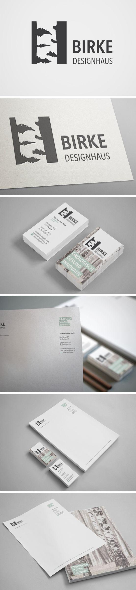 Corporate Design für Birke Designhaus | #stationary #corporate #design #corporatedesign #logo #identity #branding #letterhead #briefpapier #visitenkarte #business card #Germany | made with love in Stuttgart by www.smoco.de
