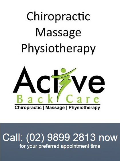 Active Back Care is one of the very few interdisciplinary health centers in Sydney, offering a unique holistic approach to wellness. Conveniently located in Castle Hill, we offer the trifecta of wellness services—chiropractic, massage and physiotherapy—under one roof. http://activebackcare.com.au/