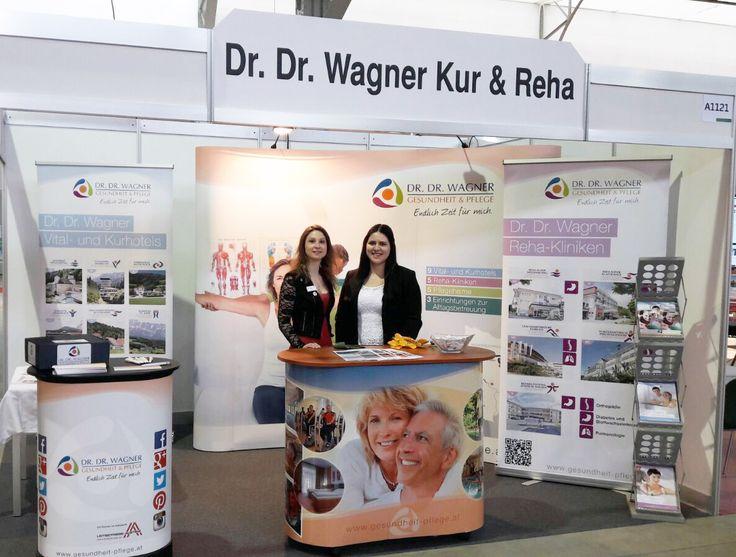 Treffen Sie uns auf der Vitalplus Frühlings und Seniorenmesse in der Marx Halle in Wien. (bis zum 18. März 2017) www.gesundheit-pflege.at