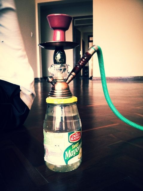 Smoking Hubbly in Hillbrow, shot this at a Friends Apartment on Rocky Street.