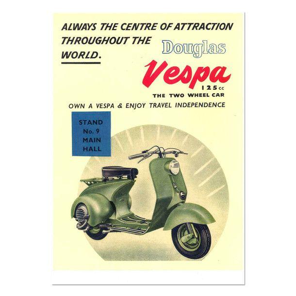 (31) eu.Fab.com | Vespa Scooter Print