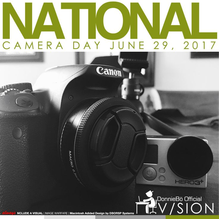 Happy National Camera Day! The best camera is the one that's with you when inspiration hits, Weapons of Mass Disruption.  Define your target market/niches, then unleash your visual narrative: it gets results. Stay CA All Day… CreAtive All Day #ConstantContent #NationalCameraDay #ThinkVisual  ▃▃▃▃▃▃▃▃▃▃▃▃▃▃▃▃▃▃▃▃▃▃▃▃▃ /// V/sion <build><something/> #NationalDay #ConstantContent #WeaponsofMassDisruption