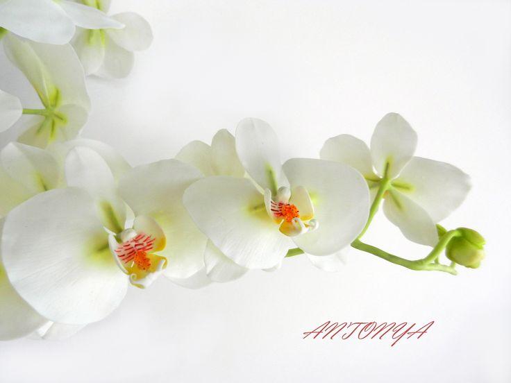 орхидея,ручная работа