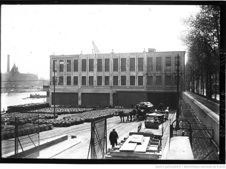Magasins généraux du quai d'Austerlitz : [photographie de presse] / Agence Meurisse