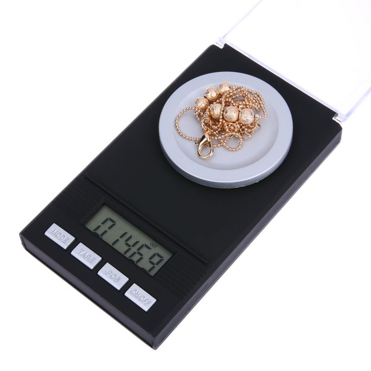 50g/0.001g Jewelry LCD Digital Scale Lab Weight Milligram Scale Medicinal Herbs Use Portable Mini Electronic Scales Precisely #Affiliate