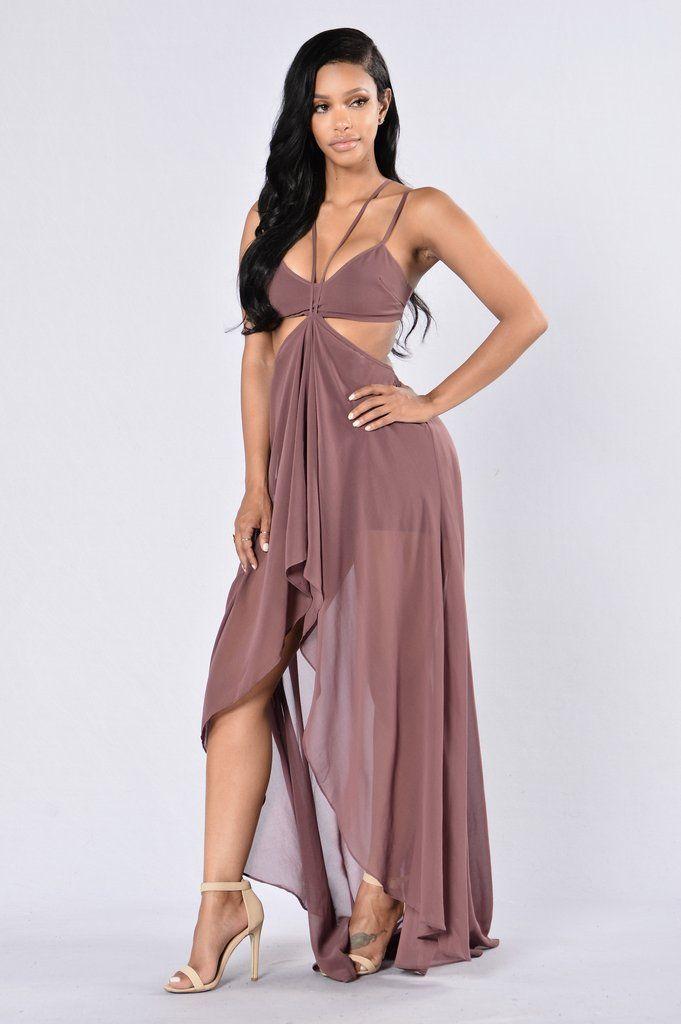 Miami Beach Dress - Wine