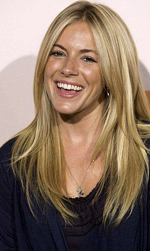 Sienna Miller... Want to get my hair to this