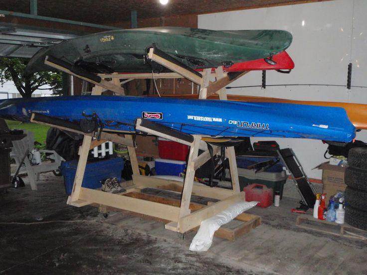 Free Access Diy Kayak Hanging Storage Distance