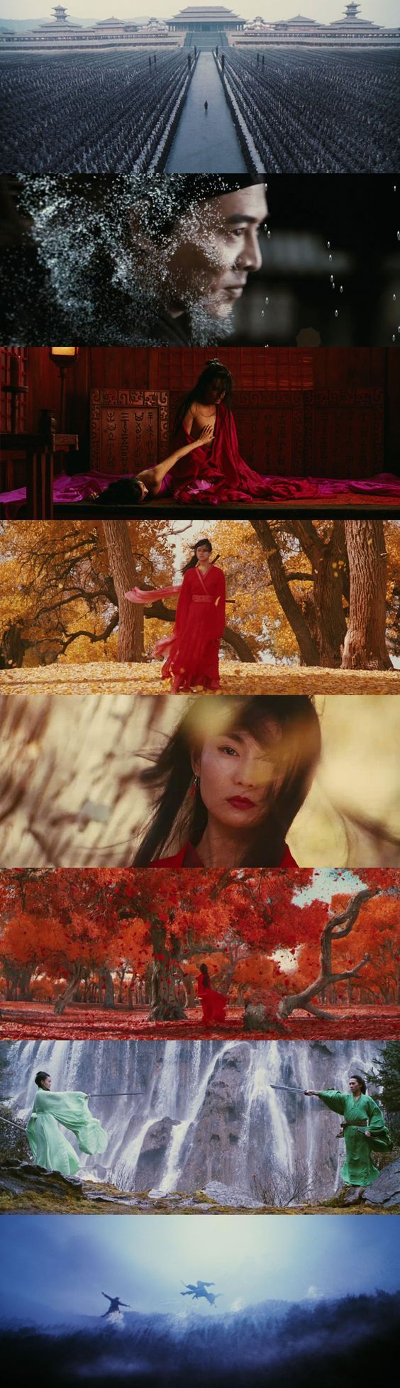'Hero' (Yimou Zhang, 2002) DoP: Christopher Doyle: