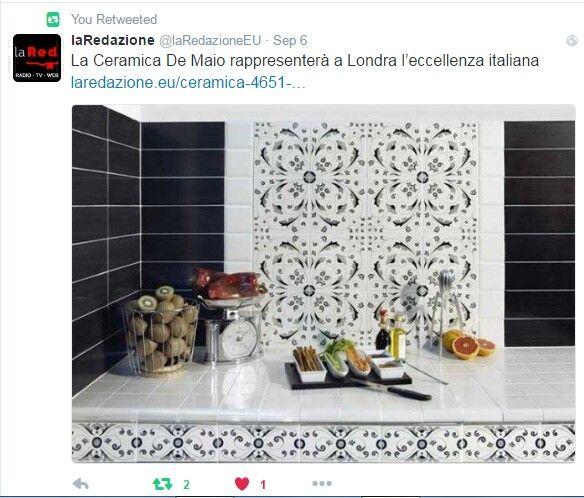 La Ceramica De Maio rappresenterà a Londra l'eccellenza italiana #ceramicafrancescodemaio