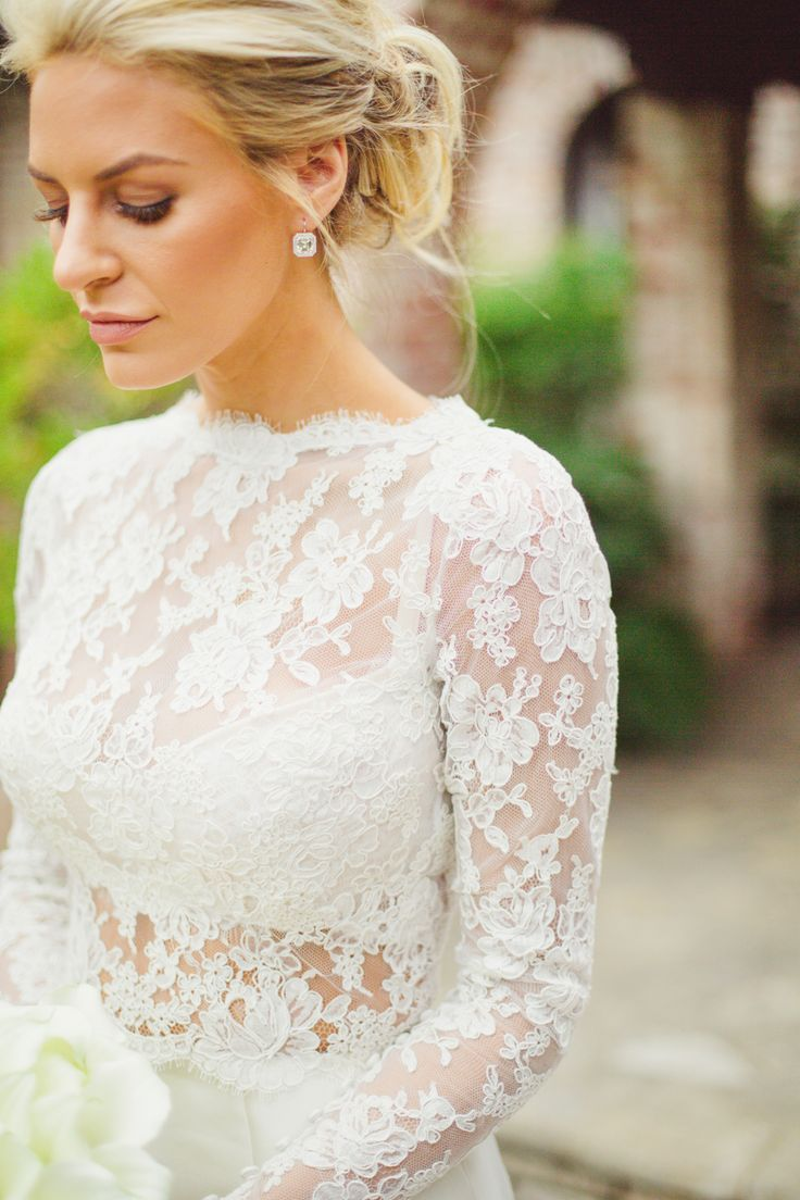 Hair And Earrings Morgan Stewart Wedding Wedding Gowns Wedding