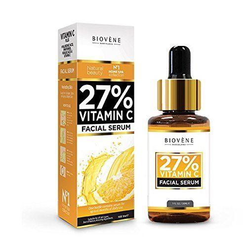 27% Vitamin C Serum ● 30ml Hochdosiert ● Anti-Aging für Gesicht und Haut ● mit Hyaluronsäure & Panthenol