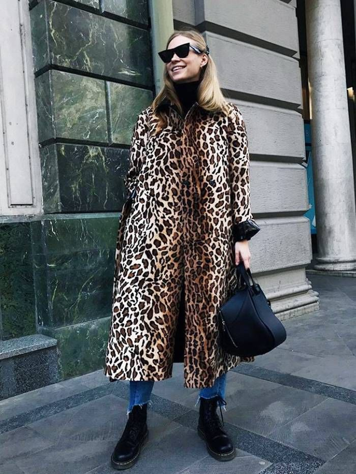 8227dd0be895 If You Have a Leopard Print Problem, You're Going to Want All 21 of These  Coats via. Winter Style | Trvl Porter Animal Print Fashion ...
