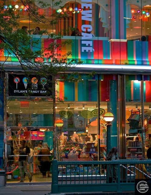 Dylan's Candy Bar, 3rd Avenue @ E. 60th Street, NYC (stop here after shopping at Bloomingdale's)