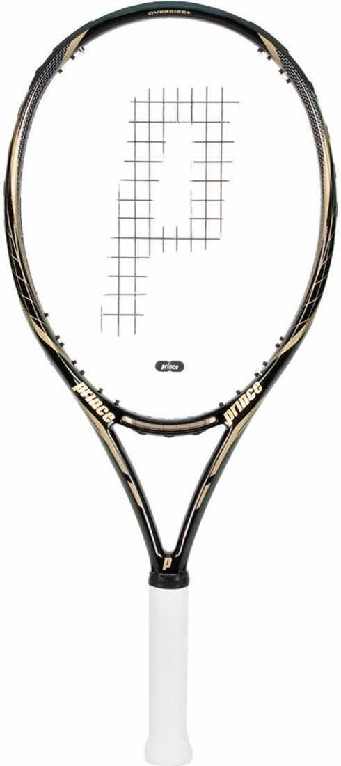 Prince Premier 115 ESP Tennis Racquet 4 0/8. Racquet is Unstrung. 115 square inch head. Suitable for weaker players with trouble generating power.