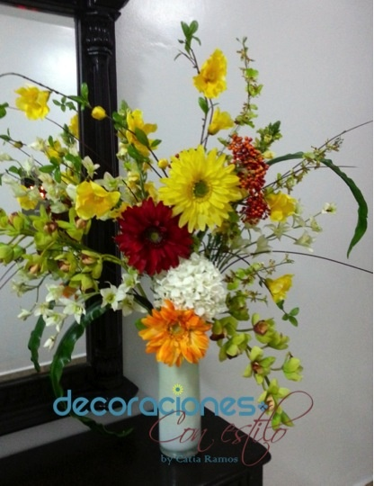 8 best arreglos florales artificiales images on pinterest - Arreglos florales artificiales modernos ...