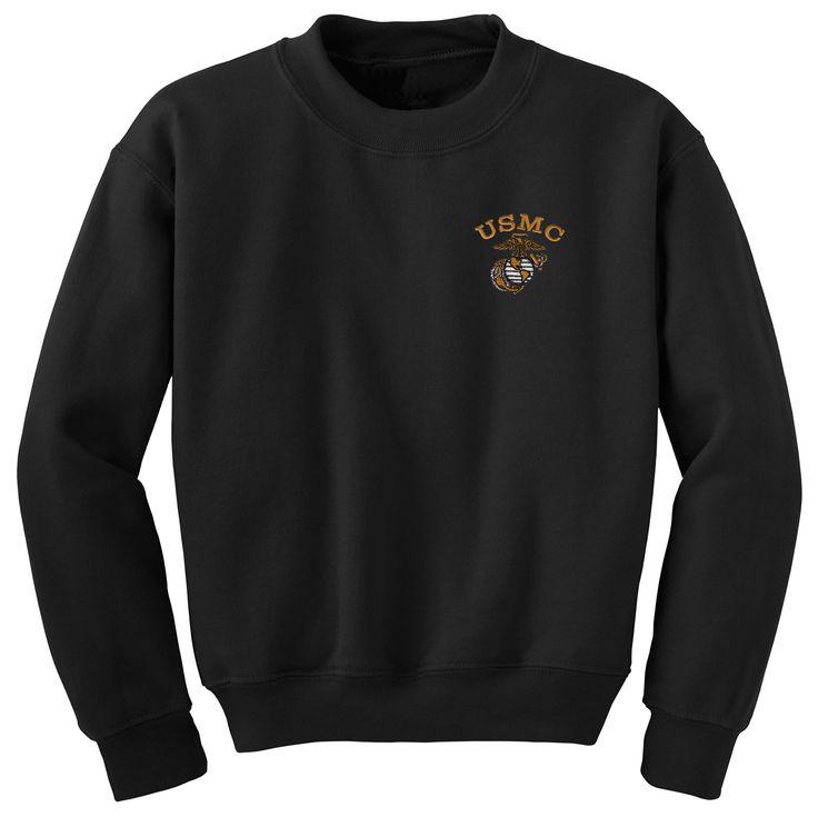 USMC Embroidered Sweatshirt