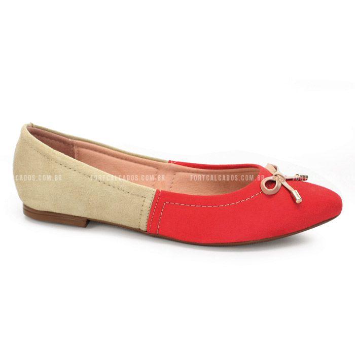 Sapatilha com modelo bicolor e com solado macio e leve que proporciona conforto e leveza ao caminhar!