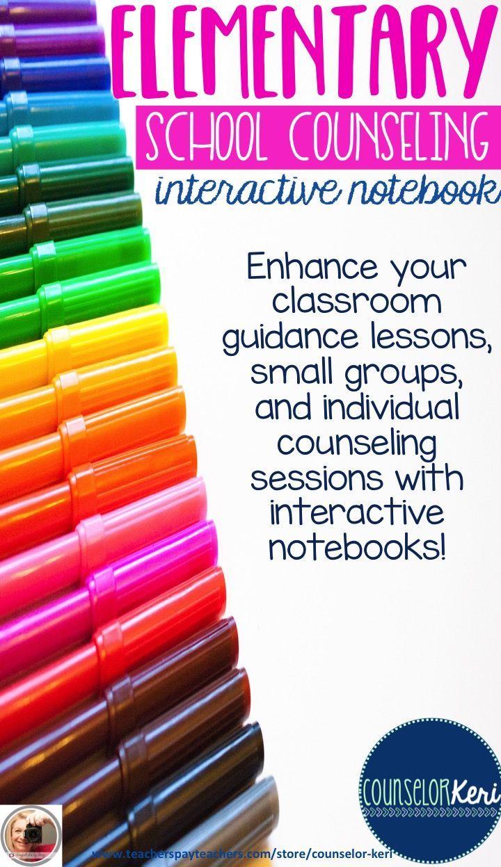Interactive notebook for elementary school counseling! Part II of my interactive notebook set -Counselor Keri