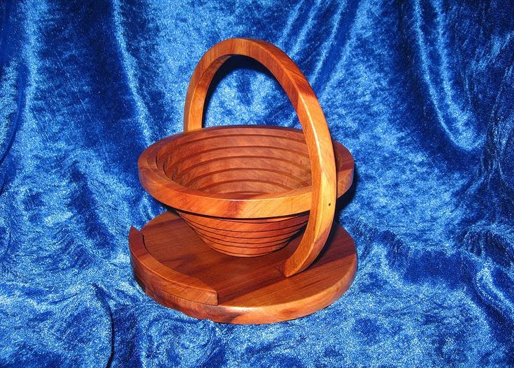 Collapsible Basket Bowl With A Scroll Saw Woodworking