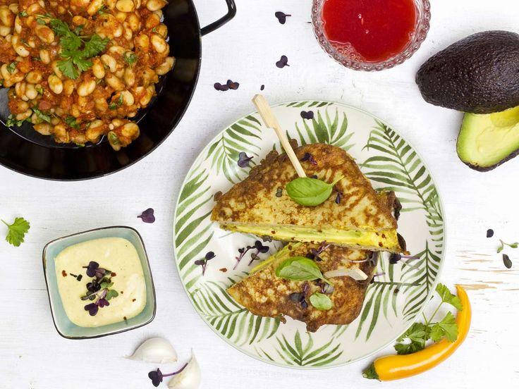 French Toast Rezept mit Avocado & baked beans ♥ in nur 30 Minuten zubereitet ♥   #vegan #whatveganseat #veganfrenchtoast #frenchtoastrecipe #frenchtoastrezept #veganesrezept #veganrecipes