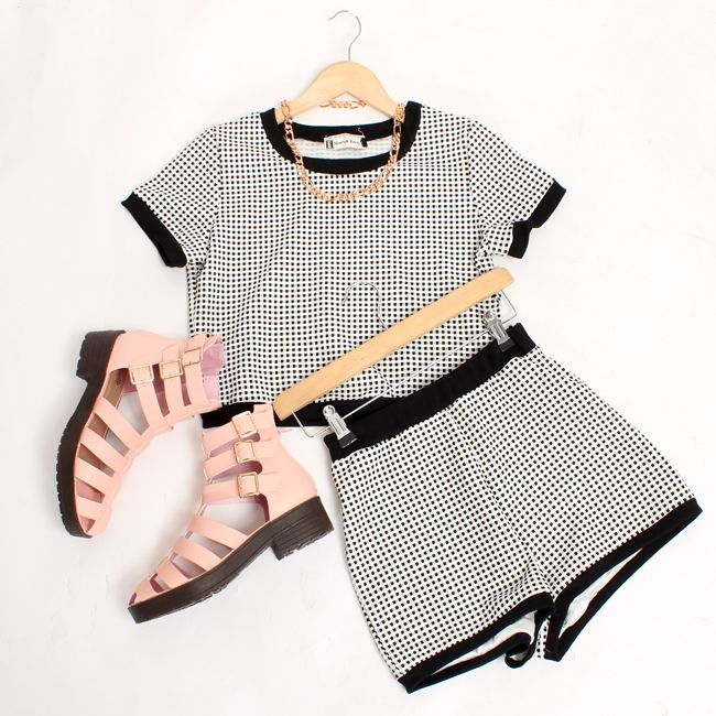 We LOVE co-ords and these #gingham babes are our fave on site at the moment...